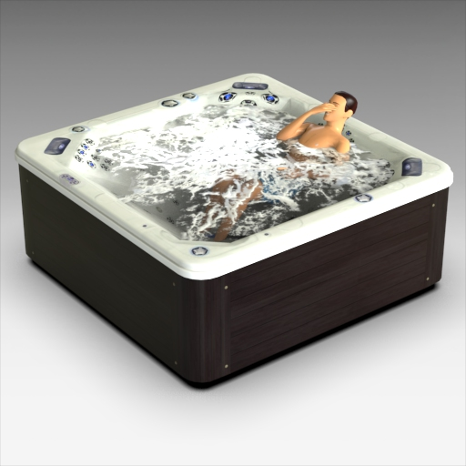 Divine Hot Tube (figure is not 