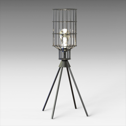 Remo Table Lamp Charcoal.