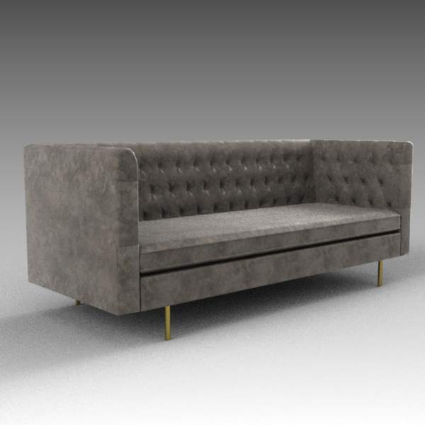 Barnaby leather sofa from af lifestyle. 