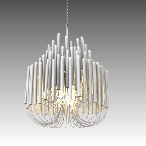 "Tilda small chandelier. 30"" high.."