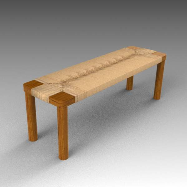 Shona bench by Four Hands. 