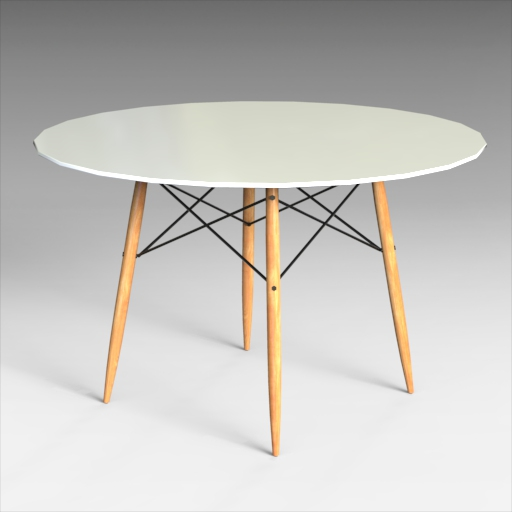 Eames Dining Table Set.