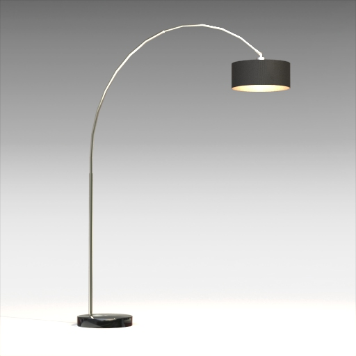 Laredo 81 Arched Floor Lamp.