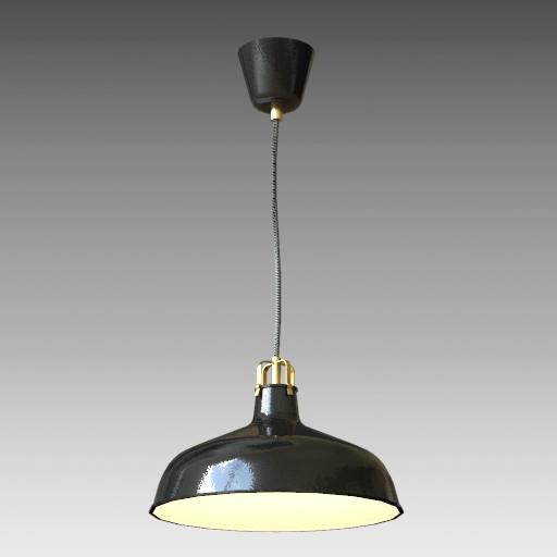 low priced 74ccd f8c22 Ranarp Pendant Lamp 3D Model - FormFonts 3D Models & Textures