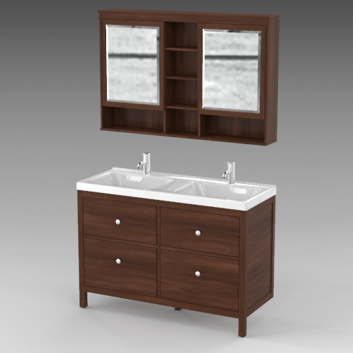 Hemnes Bathroom Furniture.