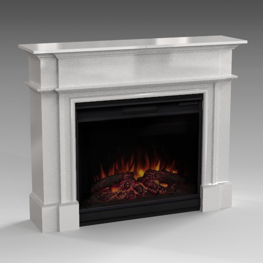 Harlan 55 Electric Fireplace.