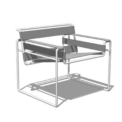 Wassily Chair 3d Model Formfonts 3d Models Amp Textures