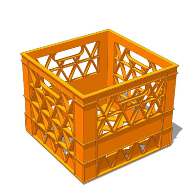 Storage Crate 3D Model - FormFonts 3D Models & Textures