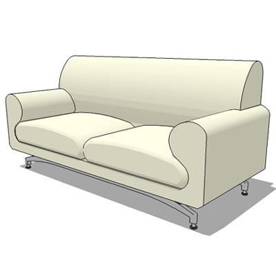 Generic 2 seater sofa.