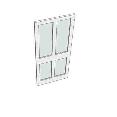838 I4XGG door (4 glazed panels).
