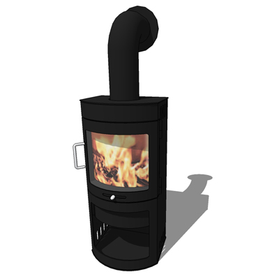 Hwam 30 compact wood burning stove by Hwam, design....