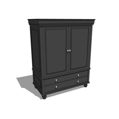 Black Armoire. This model is also fully funtional.....