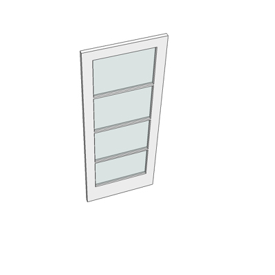 838 I50 door (four glazed panels).