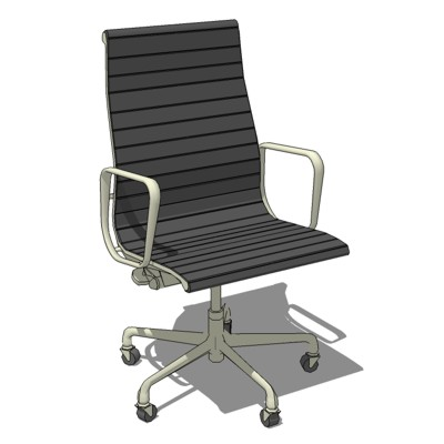 Eames Aluminum Chair 3D Model FormFonts 3D Models Textures