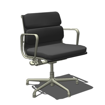 Eames SoftPad Management Chair by Herman Miller. W....