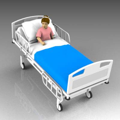 Patient Child 3d Model Formfonts 3d Models Amp Textures