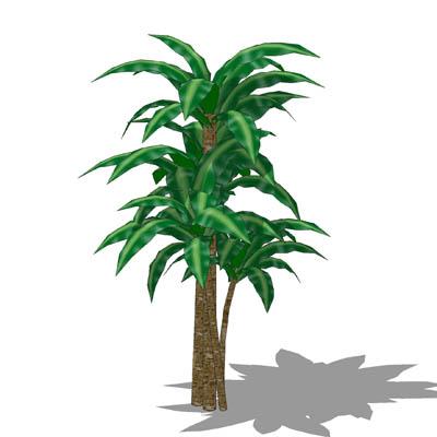 Corn Plant 3D Model - FormFonts 3D Models & Textures