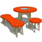 Kid's furniture set consist of 