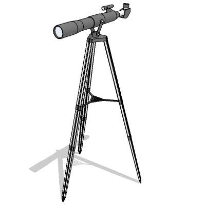 telescope 3D Model - FormFonts 3D Models & Textures