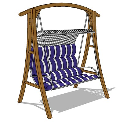 Porch swing ,seat size approx. 120cm.