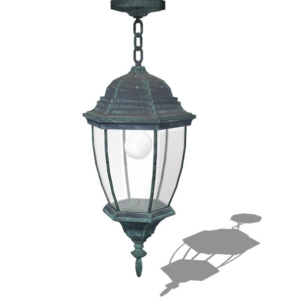 Hanging lantern 3D Model - FormFonts 3D Models & Textures