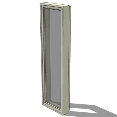 Cr i casement windows 3d model formfonts 3d models for Anderson casement windows