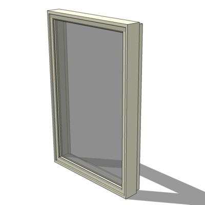 Cx i casement windows 3d model formfonts 3d models for Anderson casement windows