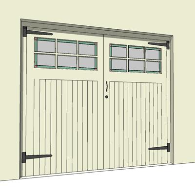 Gtf Garage Doors 3d Model Formfonts 3d Models Amp Textures