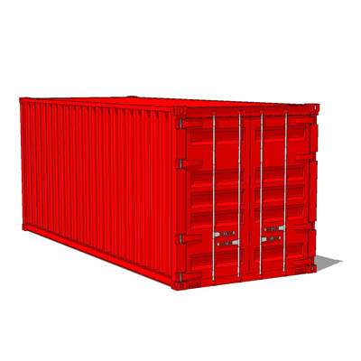 48ft Container 48D Model FormFonts 48D Models Textures Gorgeous Shipping Furniture Model