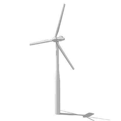 Wind Turbine 3d Model Formfonts 3d Models Amp Textures