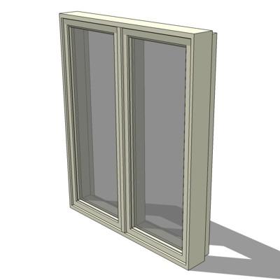 Casement window double casement window sizes for Double casement windows