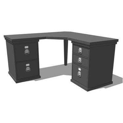 Bedford Modular Home Office 3D Model