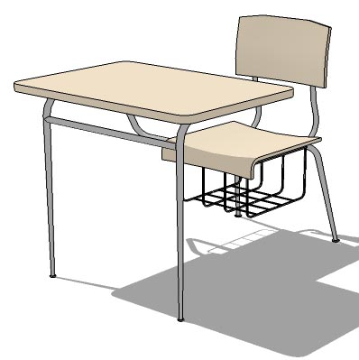 Classroom table & chair set.