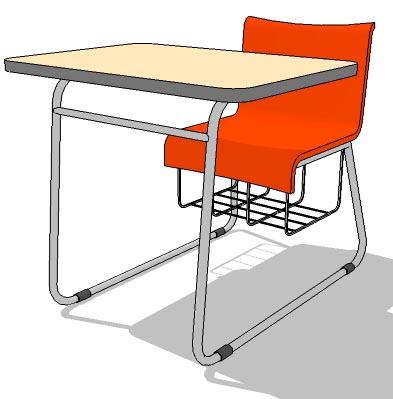 School table 02 3d model formfonts 3d models amp textures
