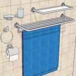 Generic toilet accessories set