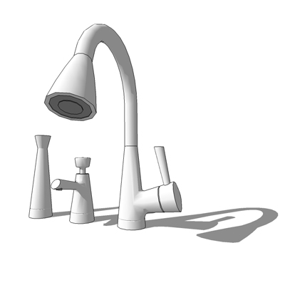 Charmant Brizo Venuto Kitchen Faucet, With Soap Dispenser A.