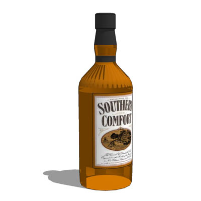1.136 ltr bottle of Southern Comfort.