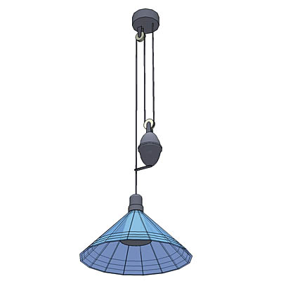 Ikea solregn pendant lamp 3d model formfonts 3d models textures adjustable ikea pendant lamp rose 24m above ori aloadofball Image collections