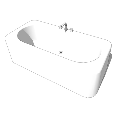 Freestanding bath by Porcher (UK/Europe - Ideal St....