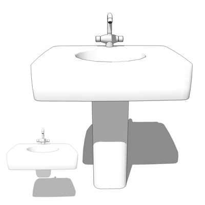 Lavatory basins by Porcher (UK/Europe - Ideal Stan....