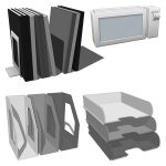 Office paper storage equipment 