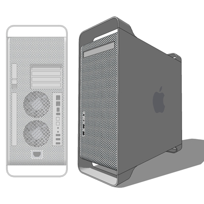 Power Mac G5 3d Model Formfonts 3d Models Amp Textures