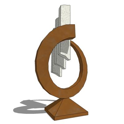 sculpture 2 3D Model   FormFonts 3D Models amp Textures