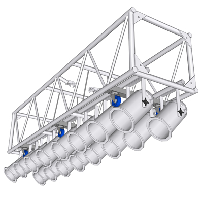120 Quot Prerigged Aluminum Truss 3d Model Formfonts 3d