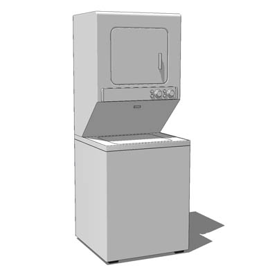 Maytag Laundry Combo 3d Model Formfonts 3d Models Amp Textures