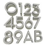 View Larger Image of neutra house numbers