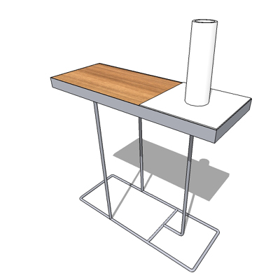 Companion table by Habitat.