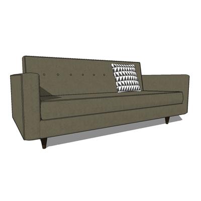 Bantam Sofas 3d Model Formfonts 3d Models Textures