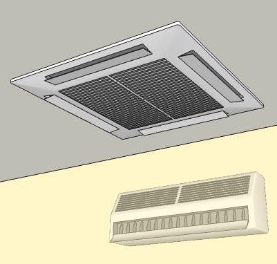Air Conditioner 3d Model Formfonts 3d Models Amp Textures