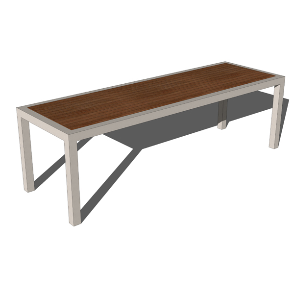 The Montego bench combines sophisticated design an....